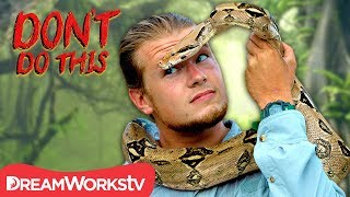 STRANGLED By A Snake?! | DON'T DO THIS