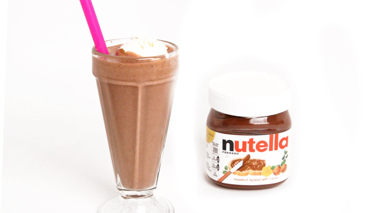 Ultimate Nutella Milkshake - Laura Vitale - Laura in the Kitchen ...