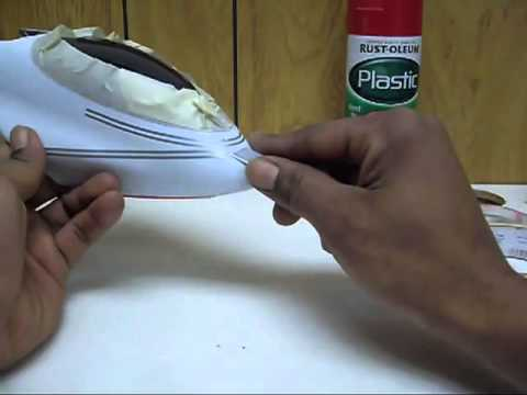 Paint your own 450 RC Helicopter Canopy & Paint your own 450 RC Helicopter Canopy - YouTube