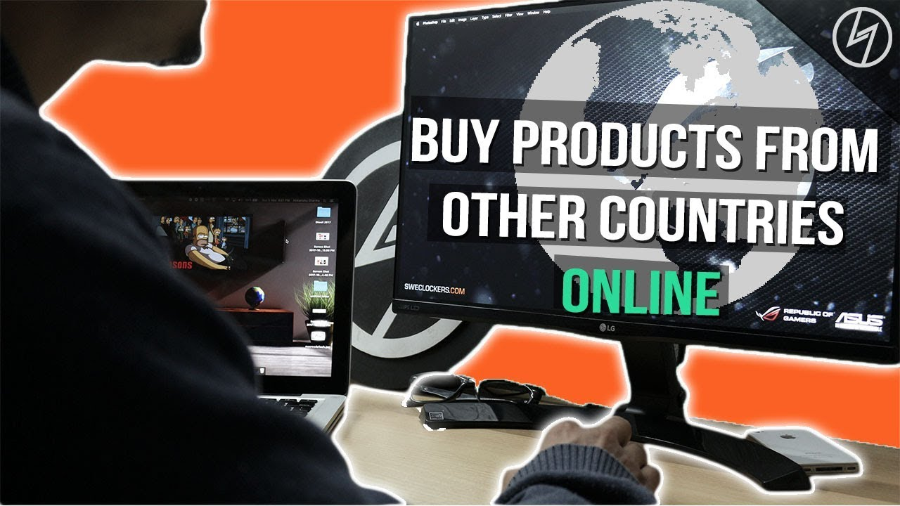 How To Shop From Other Countries Online Creatorshed Youtube