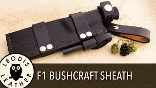 Cooking | How to Make a Bushcraft Sheath for an F1 Style Knife 1 hour 40 mins HD