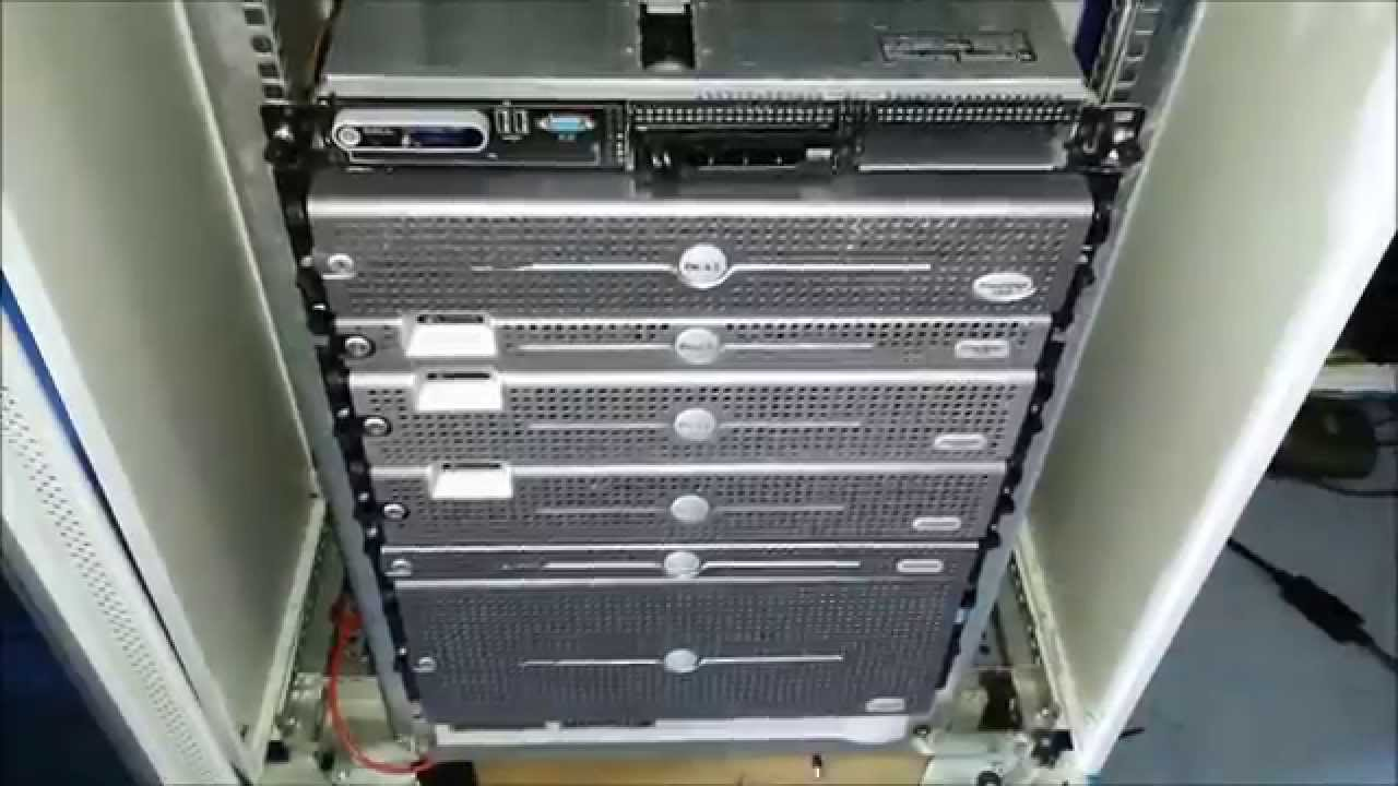 Home Lab Server Rack Setup - YouTube