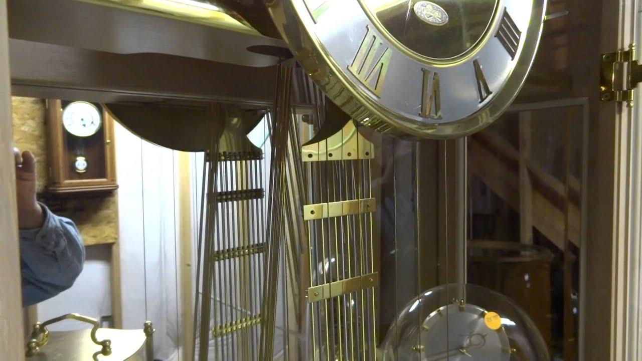 ridgeway modern style grandfather clock
