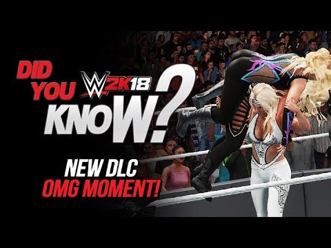 WWE 2K18 Did You Know?: New DLC Double Finisher OMG Moment (Enduring Icons DLC Pack)