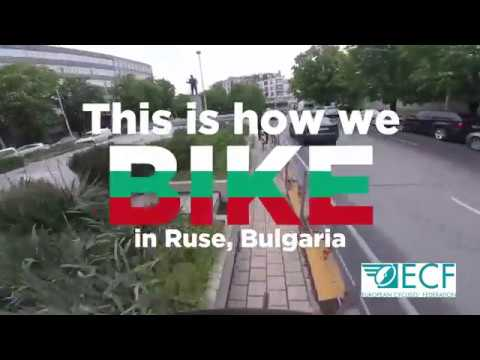 Bike ride in Ruse, Bulgaria