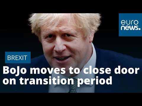 Boris Johnson moves to close door on extended Brexit transition period
