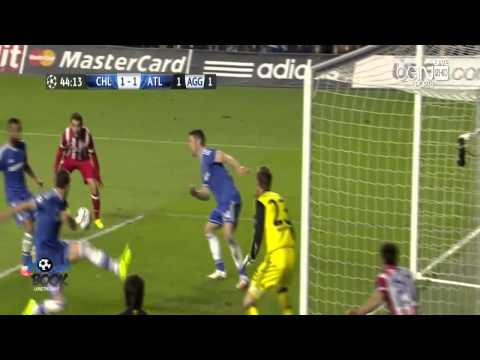Chelsea vs Atletico Madrid 3-1 All Highlights Champions League 01.05.2014