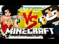 Minecraft  HERO LUCKY BLOCK CHALLENGE   Derp SSundee vs Wonder Woman