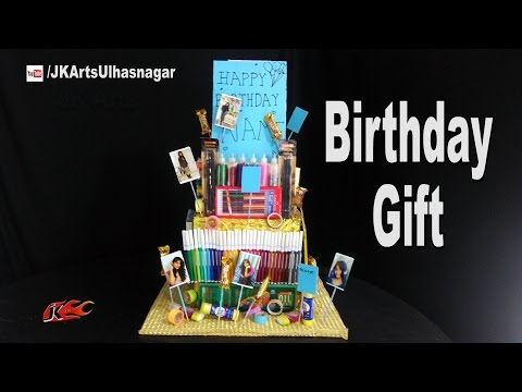 DIY Birthday Gift Idea for Kids | Stationery hamper | JK Arts 1184