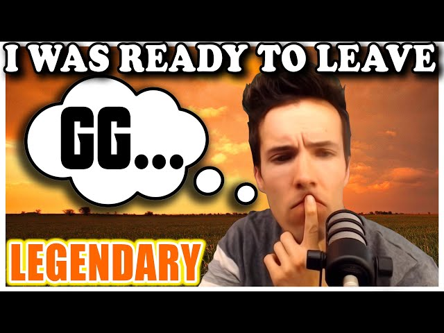 Grubby | WC3 | [LEGENDARY] I Was Ready To Leave And Write GG...