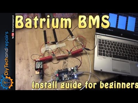 Batrium BMS - Beginners installation guide - YouTube