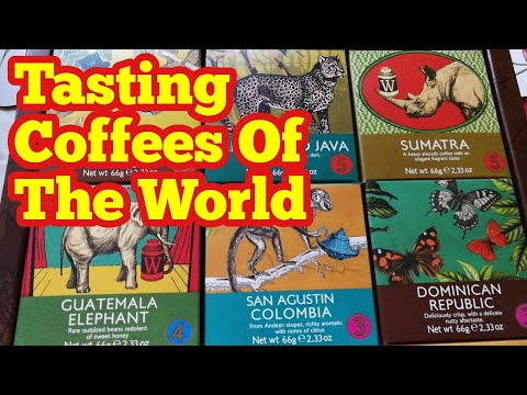 Unboxing Luxury Coffees Of The World Collection / From Whittard, Chelsea, established 1886