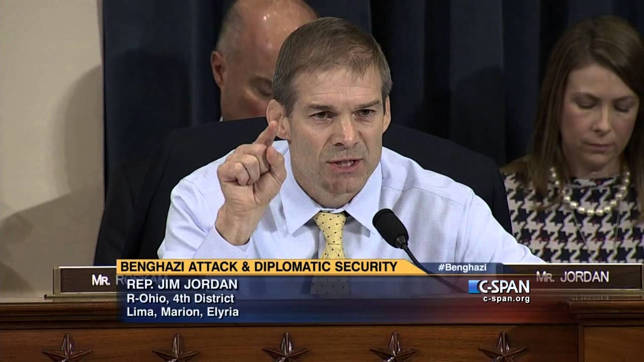 Jim Jordan Vs Hillary Clinton: Why Did You Tell Egyptians Benghazi Was A  Terrorist Attack But Not The American People?  Video  Realclearpolitics