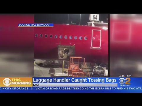 Aviation Blog - Jay Ratliff - Baggage Handler Fired After Video Shows Him Tossing Luggage At LAX