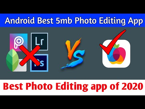 🔥Best Android Photo Editing App In 2020 | Photo Editor App Download Under 5mb | Image Editor Downlod