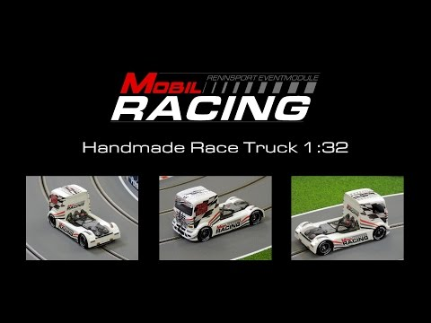 Slot Race Trucks 1:32