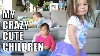 My Crazy Cute Children :) - May 14, 2015 -  ItsJudysLife Vlogs
