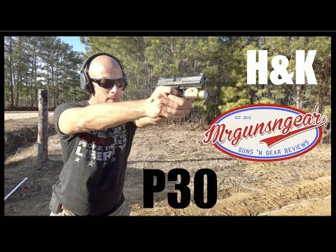 Heckler & Koch HK P30 9mm Pistol Review (HD)