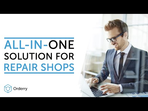 Orderry - The Best CRM for Repair Shops