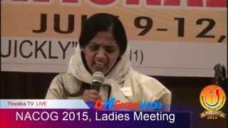NACOG 2015 - Ladies Meeting