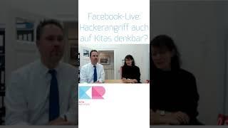 Kitarecht Folge 434 - Live am 10. Jan. 2019 bei Facebook: Hackerangriff auf Kitas denkbar?