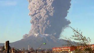 5 Monster Volcano Eruptions Caught On Camera