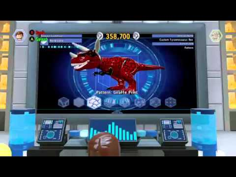 Dinosaur Codes For Lego Jurassic World - Information
