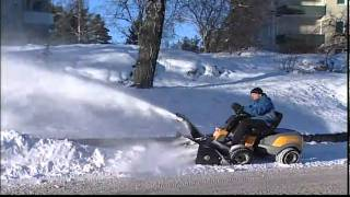 Снегоуборщик для райдера Stiga(, 2011-02-01T19:28:41.000Z)