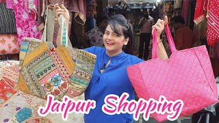 A Day Out Shopping in Jaipur | Shopping Vlog