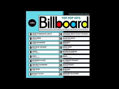 Billboard Top Pop Hits - 1985