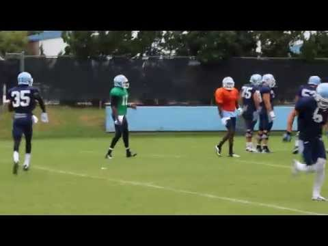 UNC hurry-up offense 8/10/15