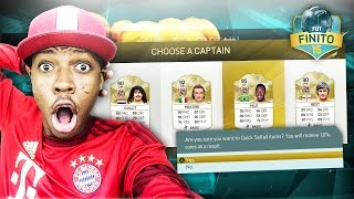 OMG HUGE LEGEND DISCARD ?!? YOUTUBERS  FUT DRAFT DUEL SERIES - FIFA 16 FUT DRAFT FINITO