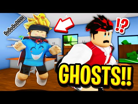 I Died and Became a GHOST in Roblox BROOKHAVEN RP!!