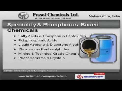 Chemical Products by Prasol Chemicals Limited, Navi Mumbai