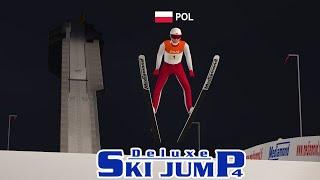 Skoki narciarskie, które odpaliłem 9 lat za późno - Deluxe Ski Jump 4