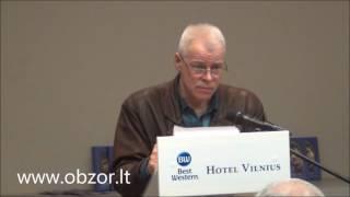 В Вильнюсе - презентация книги о Роландасе Паксасе