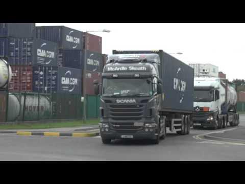 TRUCKS DUBLIN PORT SEPT 2015