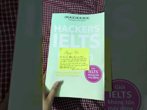 Review sách Hacker IELTS - bộ sách bán chạy nhất hiện nay