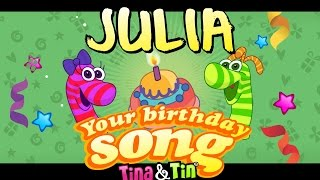 Tina&Tin Happy Birthday JULIA