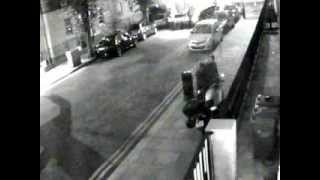 Motor bike being Stolen Dublin in less than 5 Minutes