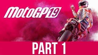 MotoGP 19 CAREER MODE Gameplay Walkthrough Part 1 - ROOKIE
