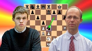 Magnus Carlsen beats his Dad at chess in the Arctic