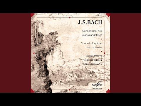 Concerto for Two Harpsichords in C Minor, BWV 1060: II. Adagio