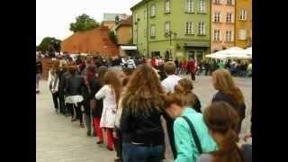 Taniec Belgijki 1/2 w Warszawie ( Dancing Belgium in Warsaw )