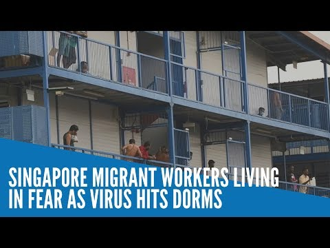 Singapore Migrant Workers Living In Fear As Virus Hits Dorms