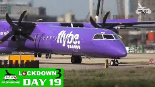 BIG JETS FROM HOME DAY 19 - DAILY UPDATE WITH SHOW REPLAY: LONDON CITY AUGUST 2019