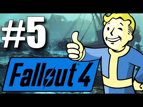 Fallout 4 Far Harbor DLC - Part 5 - The Children of Atom! (New Survival Mode)