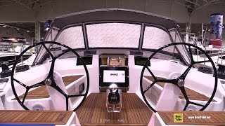 2015 Hanse 415 Sailing Yacht - Deck, Interior and Hull Walkaround - 2015 Toronto Boat Show
