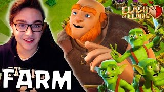 CLASH OF CLANS - ON REPART FARM SUR LE GROS COMPTE ! + PASSAGE HDV 3 !