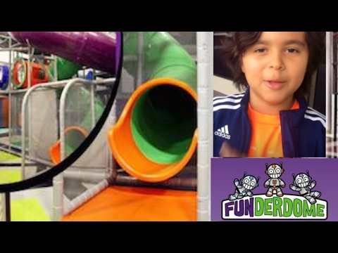 Funderdome Family Fun Kids Indoor Playground and Cafe  - Fort Lauderdale Miami, Florida